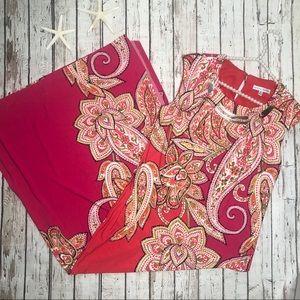 Sandra Darren Pink Maxi Dress